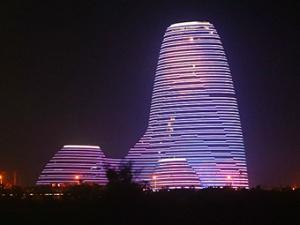 高清:惊艳!大批美图来了 邕江夜色流光溢彩