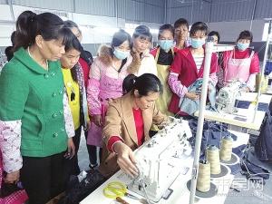 来宾:办车间促就业 抓全局增经济