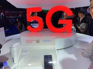 多款5G手机亮相2018中国移动全球合作伙伴大会