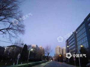 晴冷依旧 北京12月8日阵风6-7级最高气温-2℃