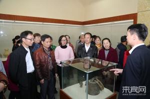 来宾:民间藏品在来宾博物馆展出