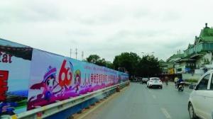桂林市城管委扮靓城市 营造热烈喜庆氛围