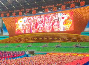 广西壮族自治区成立60周年庆祝大会侧记