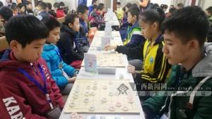 第九届广西象棋少儿等级赛收官 南宁陈村小学登顶