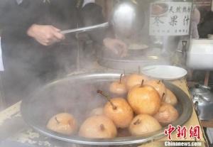 """兰州冬日暖身佳品:""""热冬果""""亦""""思乡果"""""""