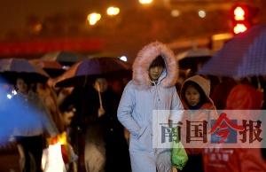 柳州迎来今冬最低气温 贴心服务为寒冬带来暖意