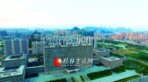 向西拓展再造一個新桂林 臨桂新區從藍圖變成現實
