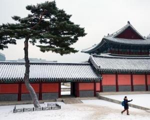 昌德宫雪景
