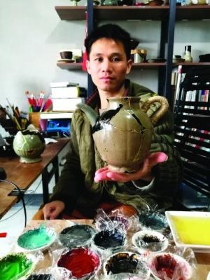 80后青年周琴星:巧手修補老器皿 用心傳承好手藝