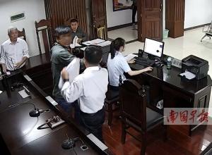 法庭上起冲突 被告打了原告一耳光被拘留7日(图)