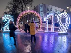 莫斯科迎新年
