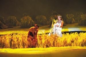 大型邕剧《顶蛳山人》试演 展现南宁悠久灿烂文明