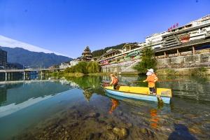 桂林龙胜保护水环境守护生态美(组图)