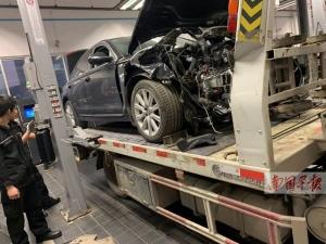 车主将事故车别处维修 4S店却要千元