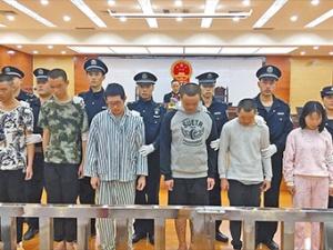 """22日焦点图:南宁""""2・25永和桥""""聚众斗殴案宣判"""
