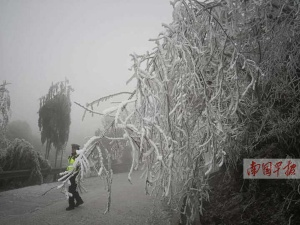 """""""冻""""真格 南宁或将出现1975年以来12月最冷天气"""