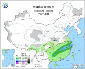 华北黄淮等地霾减弱 南方雨雪增多难放晴