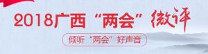 """2018广西""""两会""""微评——倾听""""两会""""好声音"""