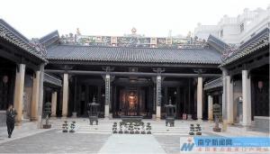 高清:南宁城隍庙重建 再现赤诚佑民情怀