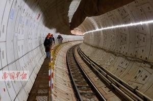 地铁2号线东延线已有4站点封顶