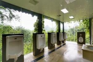"""高清:广西""""旅游厕所革命"""" 这样的厕所你见过没"""