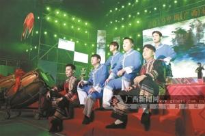 合山:200多个媒体平台直播壮语春晚