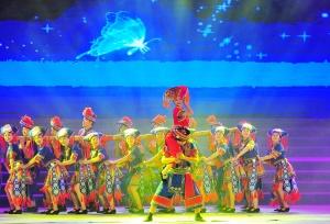 百色右江区举行2019年春节群众联欢晚会(组图)