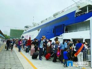 水路:春节长假运客16万人次