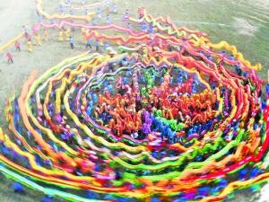 高清:壮乡和韵闹新春 各族群众以多种方式度佳节