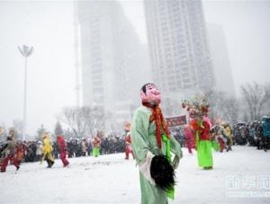 社火闹新春