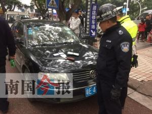 柳州男子毒驾两度冲卡连撞四车 已被送进戒毒所