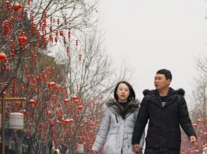 北京:正月十五雪打灯