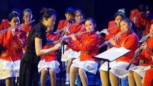 北京市学生金帆艺术团专场演出点亮伦敦