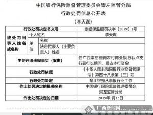 侵占资金 崇左桂农商行副行长被判处