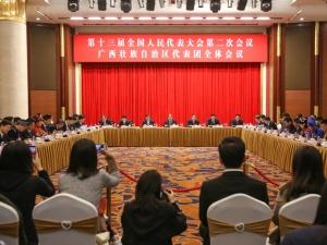高清组图:中外记者聚焦广西代表团开放日活动