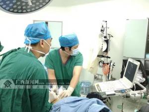 南溪山医院成功为3例小肝癌病人实施微波消融治疗