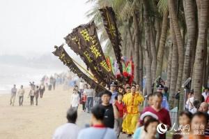 二月二龙抬头:海口祭海巡游重现耕海牧渔文化