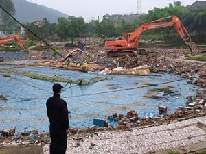 3月15日焦点图:生力军生态休闲农庄被拆除