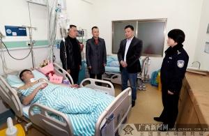桂林:小偷盗窃伤警拒捕 民警果断开枪击伤小偷