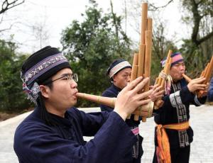 【图片故事】瑶族青年的文化传承情