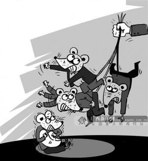 画中话:硕鼠一窝端