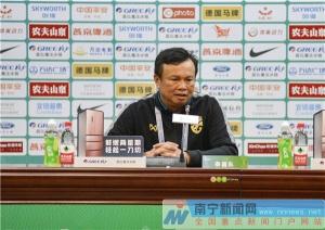 泰国队主帅:比赛结果意料之中 中国队传球失误太多