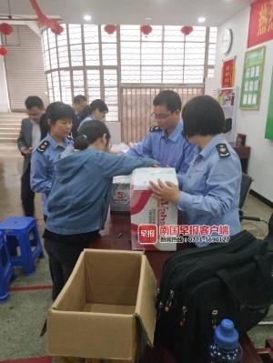 南宁某健康服务中心遭突击检查 老人子女:大快人心