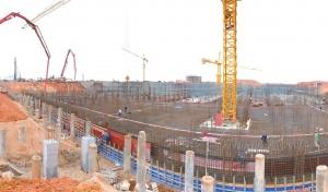 信义玻璃产业园一期厂房建设加紧推进