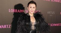 刘嘉玲穿着贵气 秀美胸长腿身材赞爆