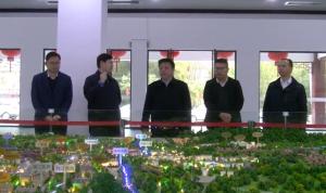 賀州市長林冠到黃姚開展項目建設調研