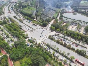 清明广西133万人次上山祭扫 祭扫要避开高峰时段