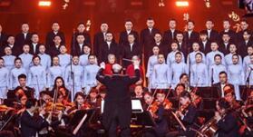 近百岁首唱者80年后再唱《黄河大合唱》