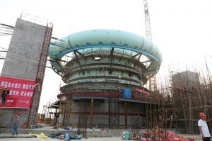 柳刚防城港钢铁基地高炉项目建设进度有序推进