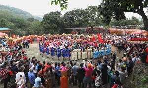 高清:玉林各县市区活动丰富 吸引游客参与